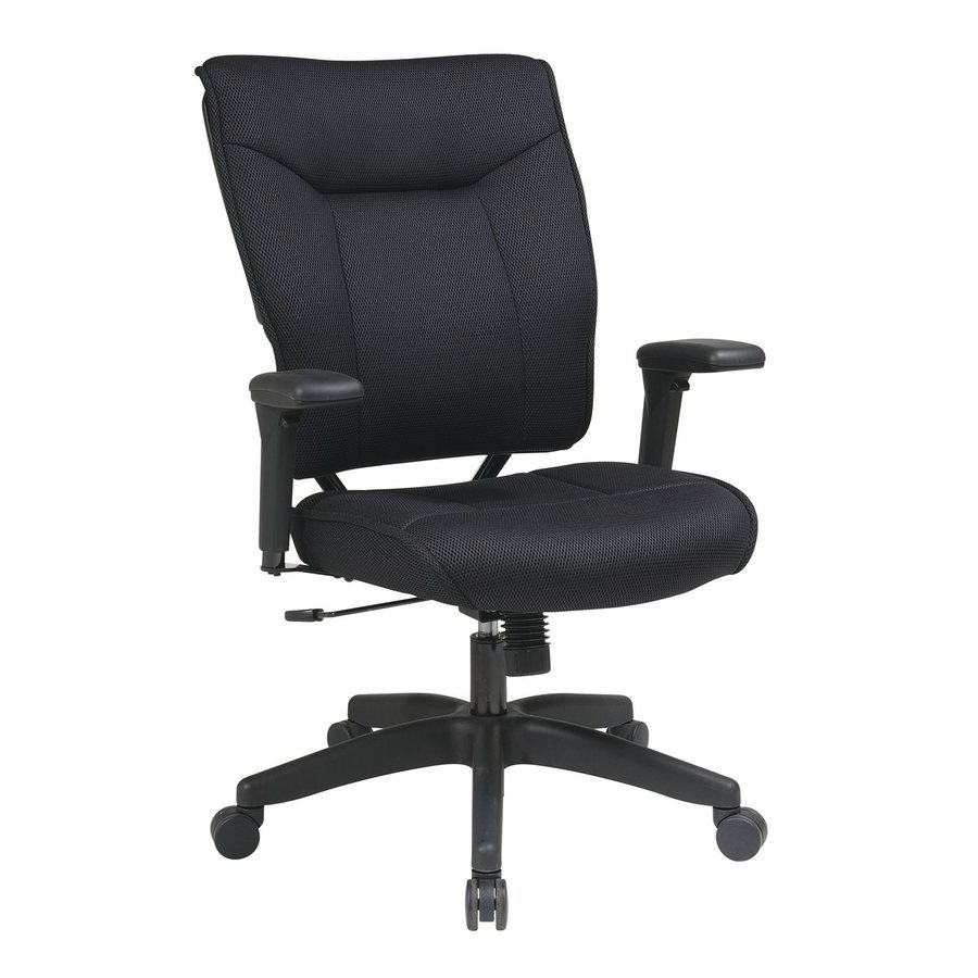 Office Star One Space Black Mesh Executive Office Chair