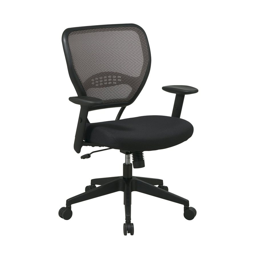 Office Star One Space Black Task Office Chair