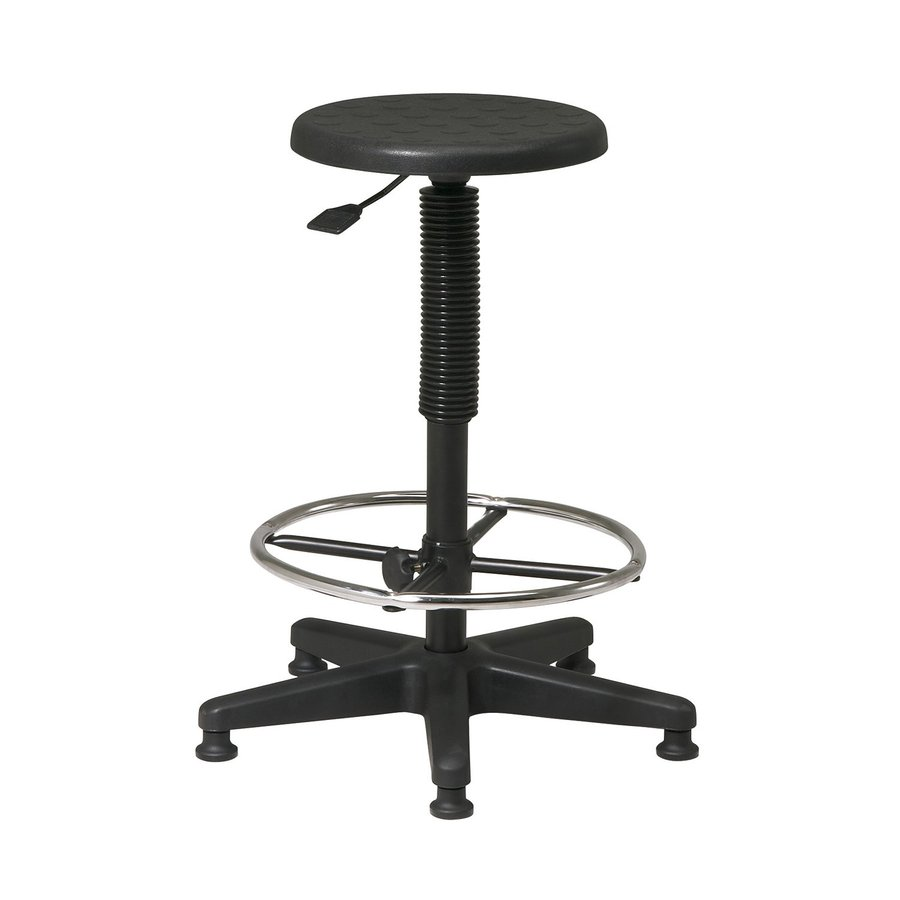 Office Star One WorkSmart Black Drafting Office Chair