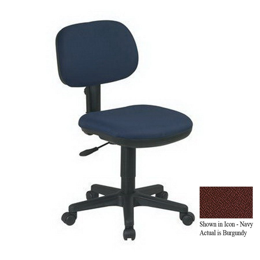 Office Star One WorkSmart Burgundy Task Office Chair