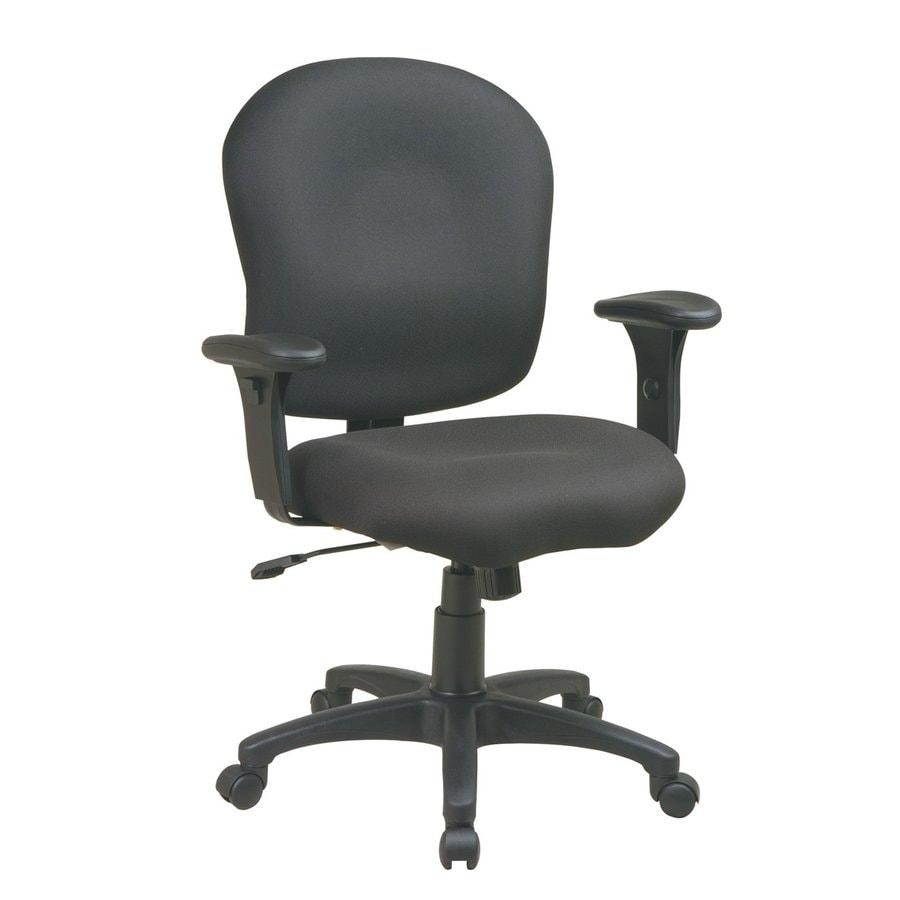 Office Star One WorkSmart Black Task Office Chair