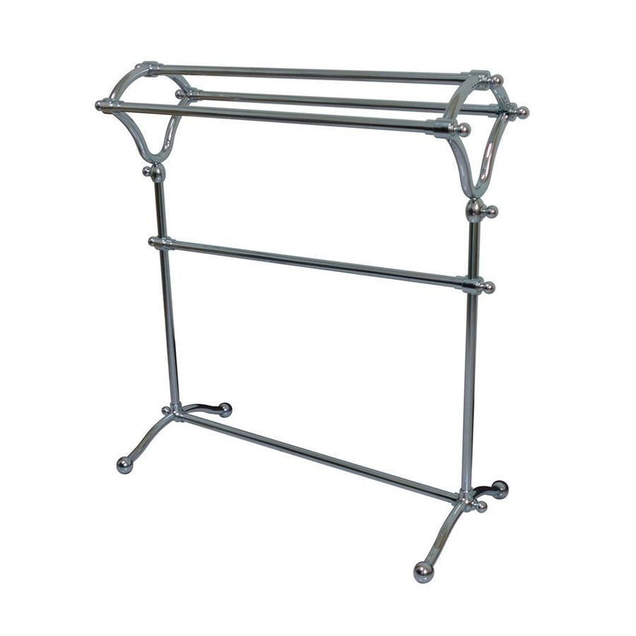 Elements of Design Vintage Chrome Rack Towel Bar (Common: 28-in; Actual: 28-in)