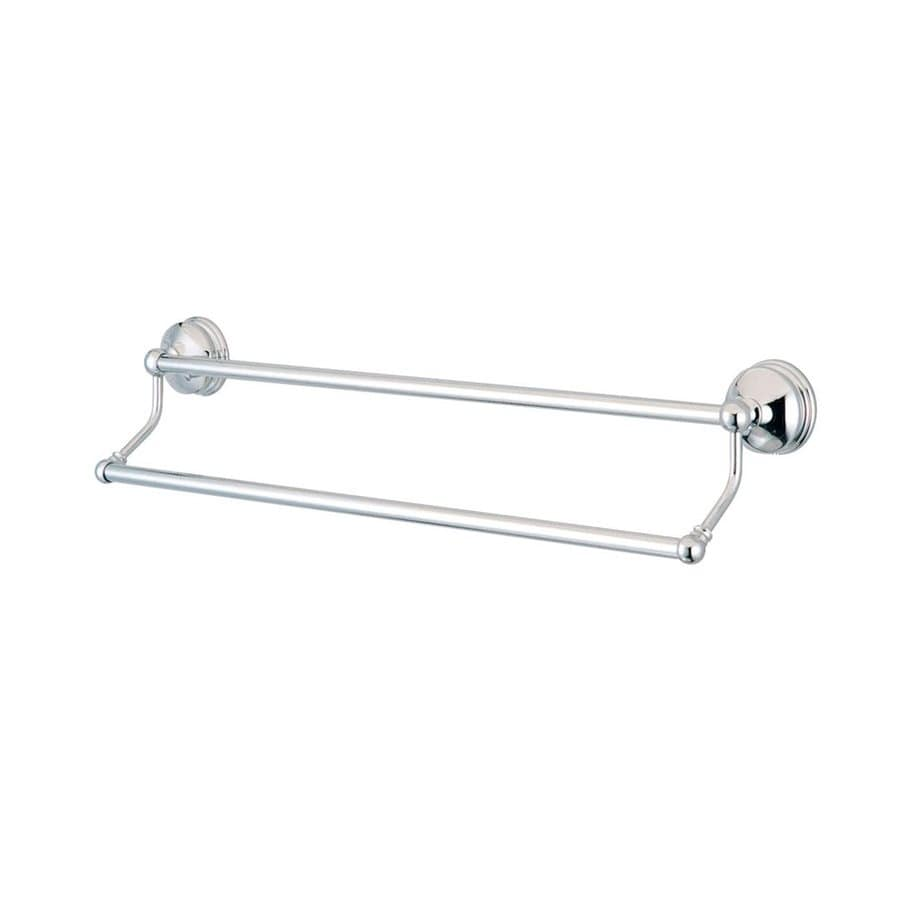 Elements of Design Vintage Chrome Double Towel Bar (Common: 24-in; Actual: 26.75-in)