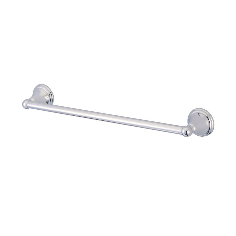 Elements of Design Governor Chrome Single Towel Bar (Common: 18-in; Actual: 20.63-in)