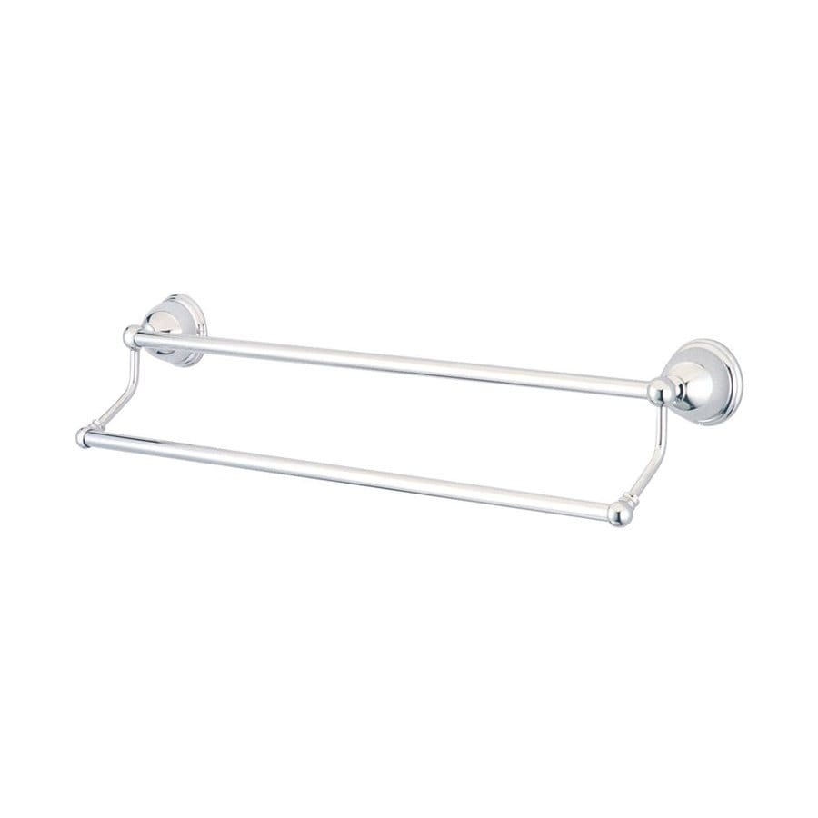 Elements of Design Restoration Chrome Double Towel Bar (Common: 24-in; Actual: 26.75-in)