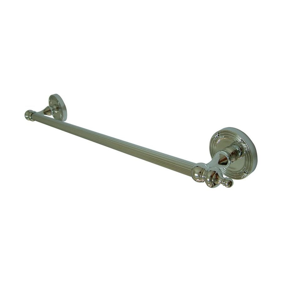 Elements of Design Templeton Chrome Single Towel Bar (Common: 24-in; Actual: 27-in)