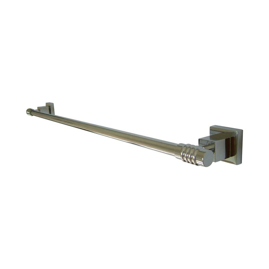 Elements of Design Fortress Chrome Single Towel Bar (Common: 24-in; Actual: 26-in)