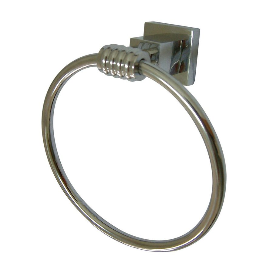 Elements of Design Fortress Polished Chrome Wall-Mount Towel Ring