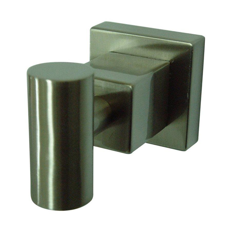 Elements of Design Claremont 1-Hook Satin Nickel Robe Hook