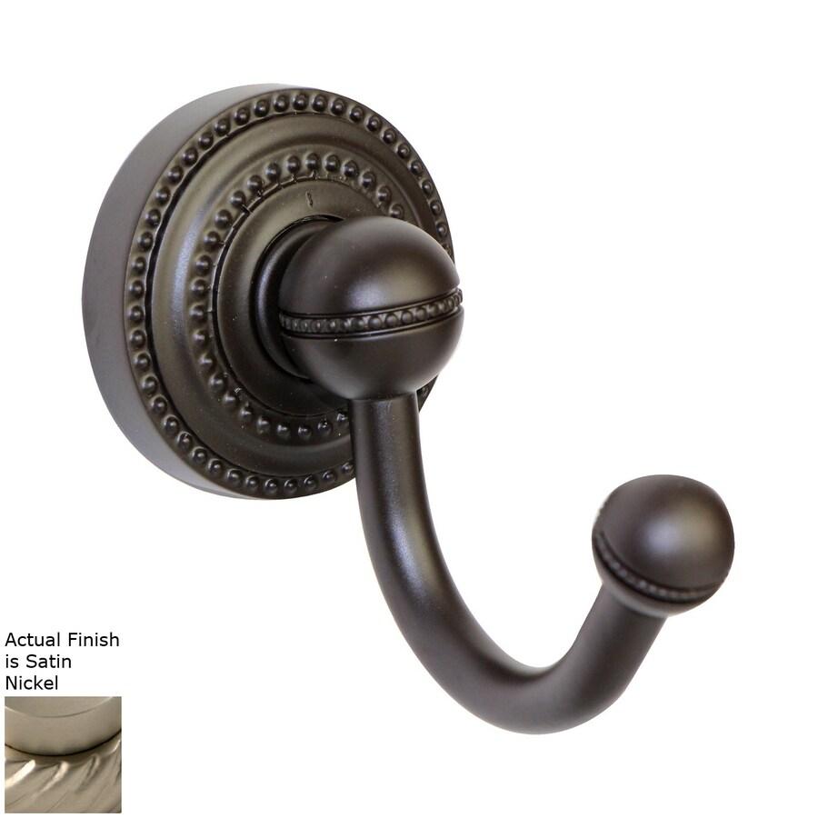 Allied Brass Dottingham Satin Nickel Robe Hook