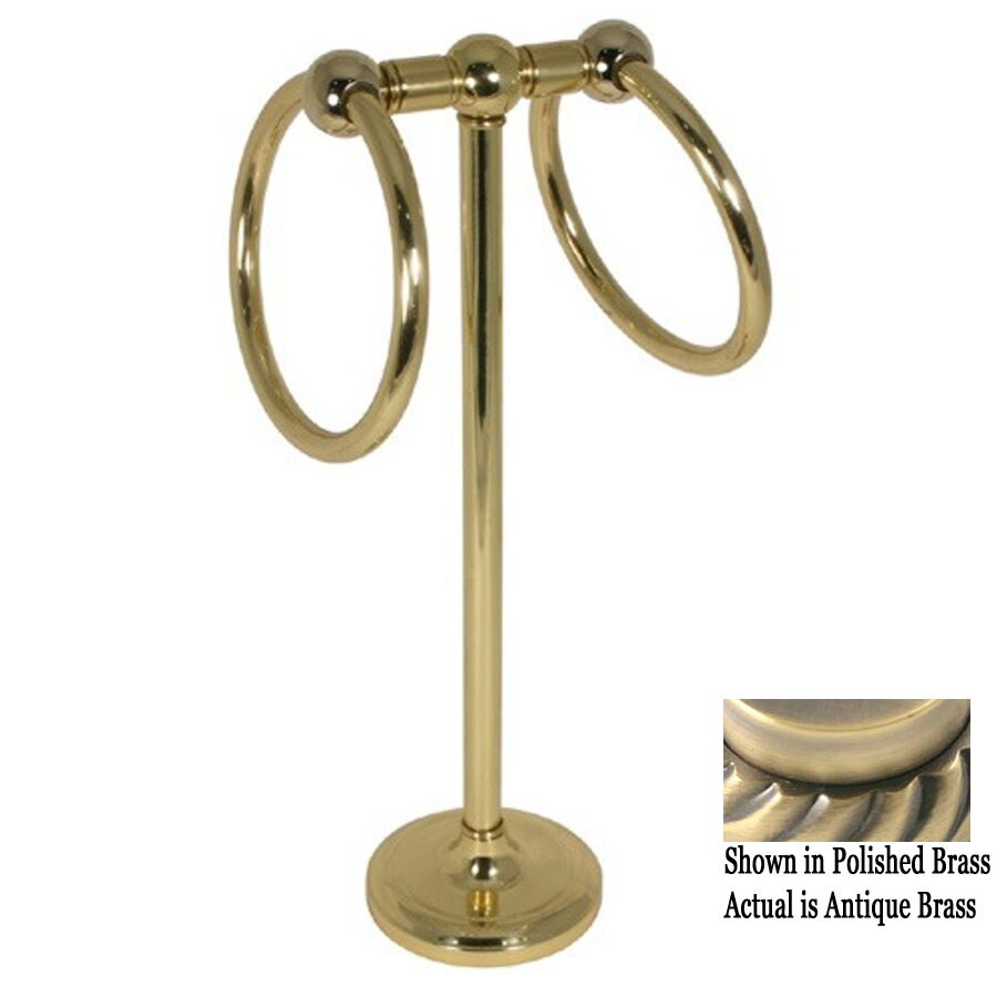 Countertop Towel Ring : ... Brass Antique Brass Freestanding Countertop Towel Ring at Lowes.com