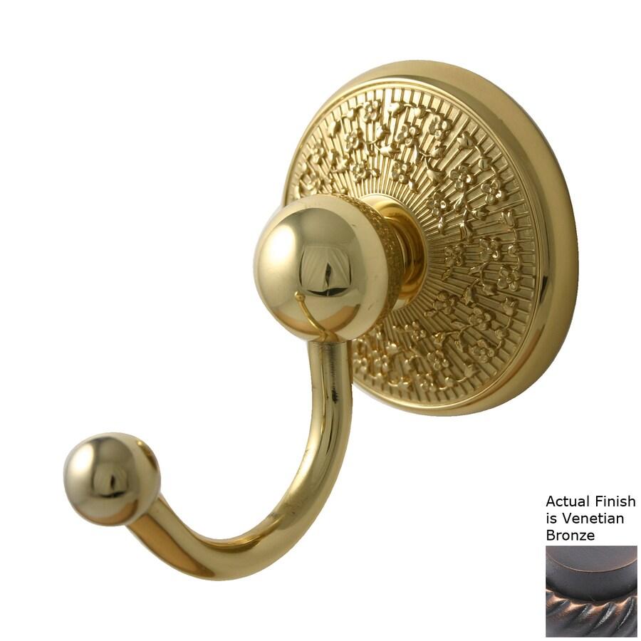 Allied Brass Prestige Monte Carlo Venetian Bronze Robe Hook