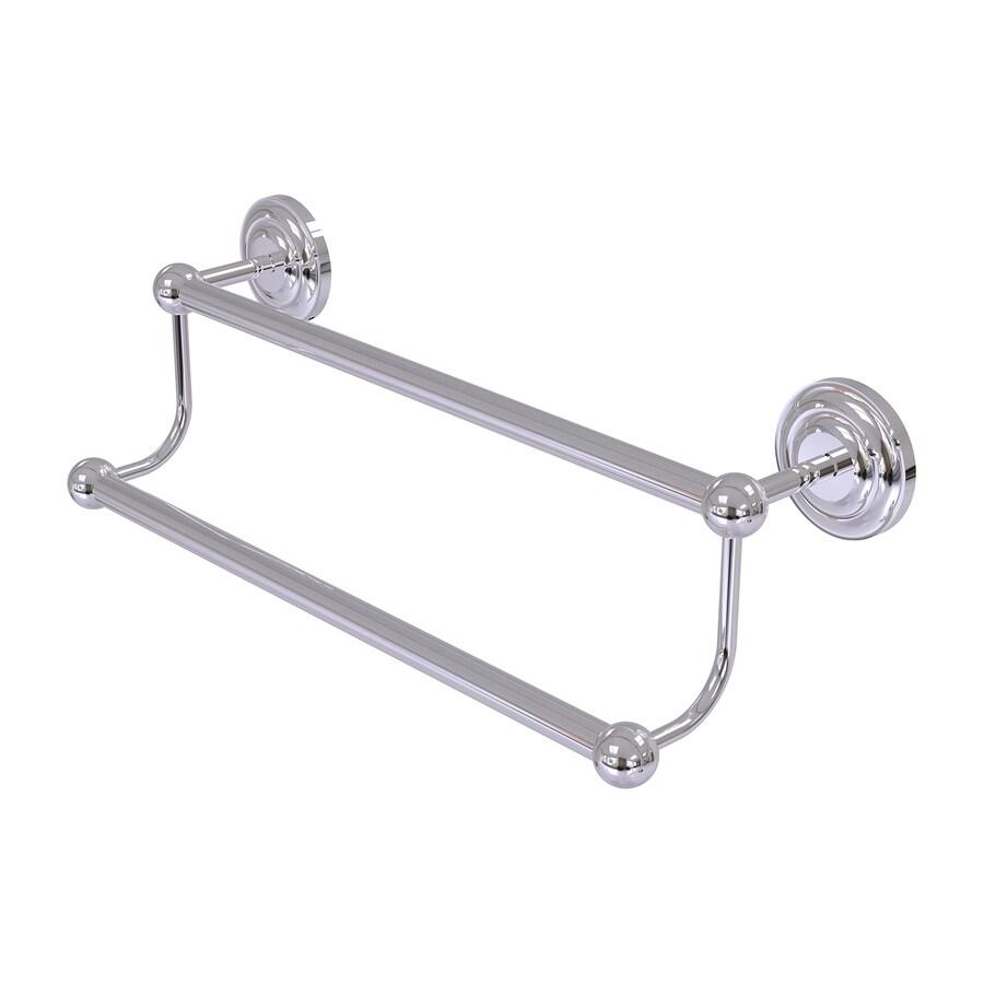 Allied Brass Prestige Que-New Polished Chrome Double Towel Bar