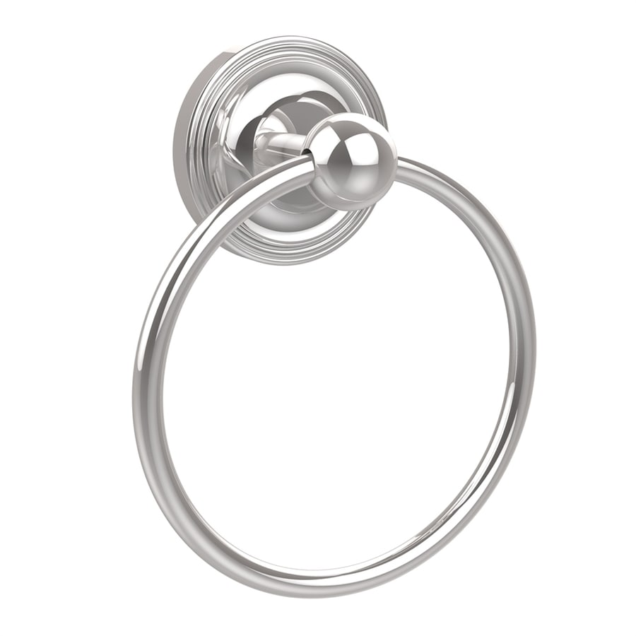 Allied Brass Prestige Regal Polished Chrome Wall-Mount Towel Ring