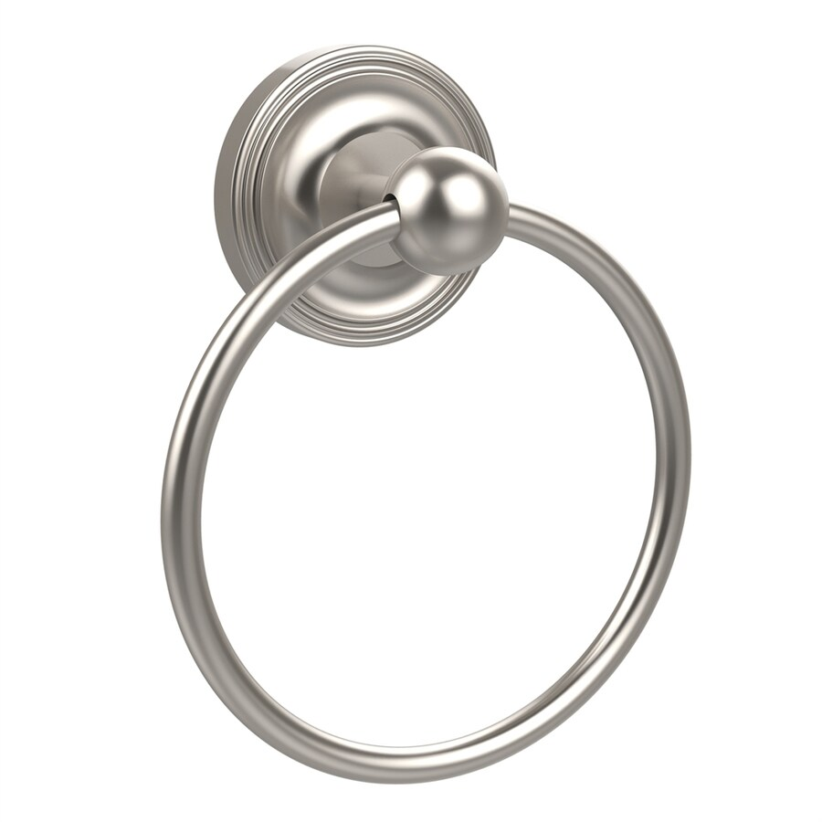 Allied Brass Prestige Regal Satin Nickel Wall-Mount Towel Ring