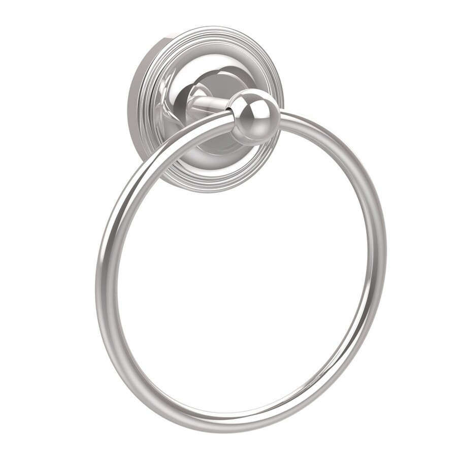 Allied Brass Regal Polished Chrome Wall-Mount Towel Ring