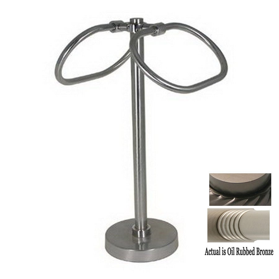 Countertop Towel Ring : ... Oil-Rubbed Bronze Freestanding Countertop Towel Ring at Lowes.com