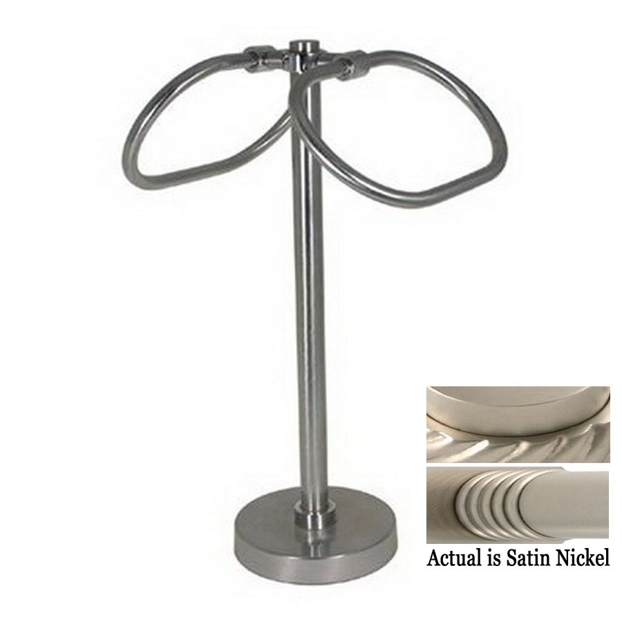 Countertop Towel Ring : ... Brass Satin Nickel Freestanding Countertop Towel Ring at Lowes.com