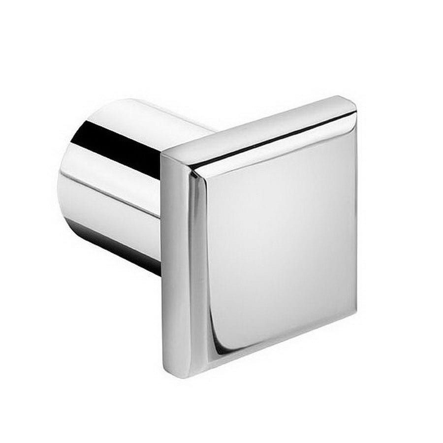 WS Bath Collections Kubic Class Polished Chrome Robe Hook