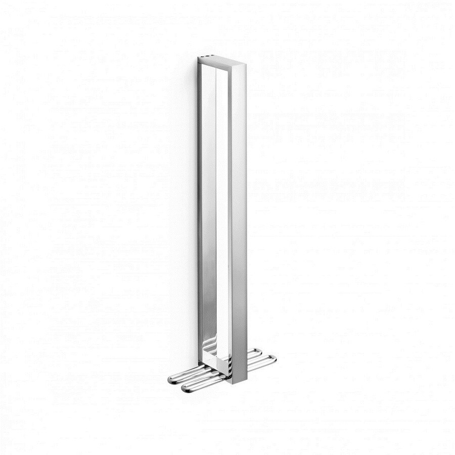 WS Bath Collections Skuara Polished Chrome Single Towel Bar (Common: 15-in; Actual: 15.8-in)