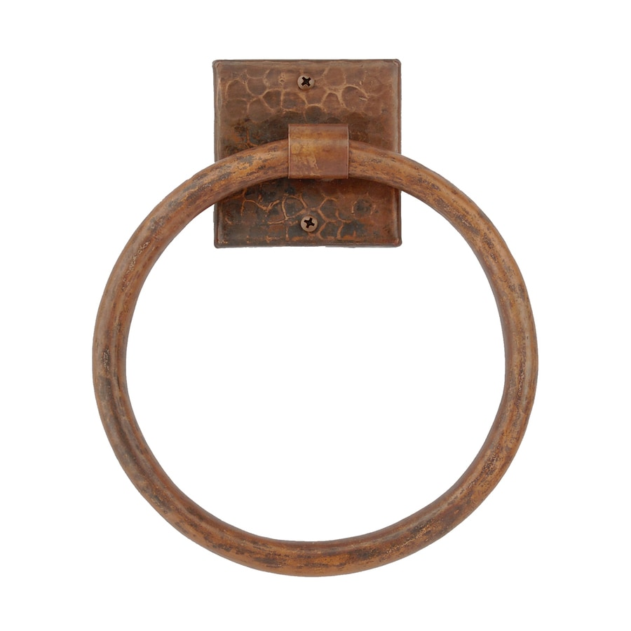 Premier Copper Products Oil-Rubbed Bronze Wall Mount Towel Ring