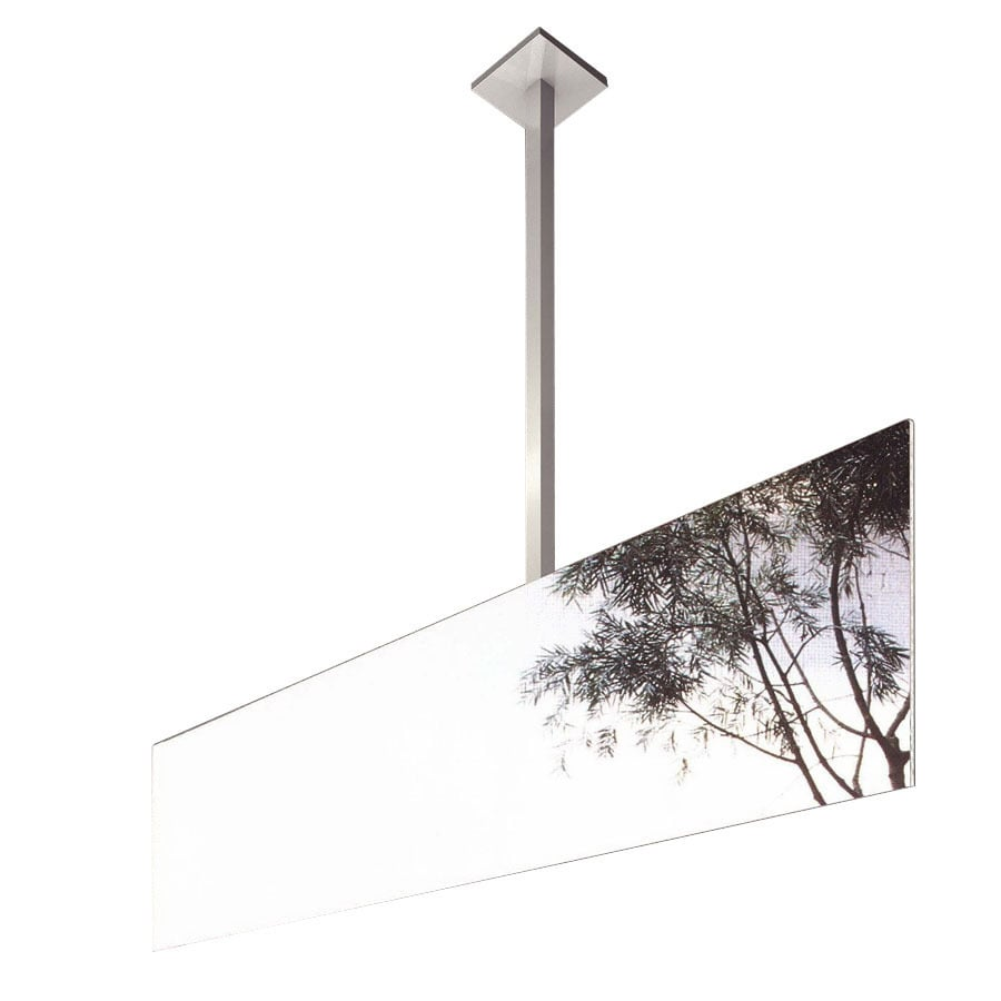 WS Bath Collections 11-7/8-in H x 35-3/8-in W Mirror Pure Rectangular Frameless Bath Mirror
