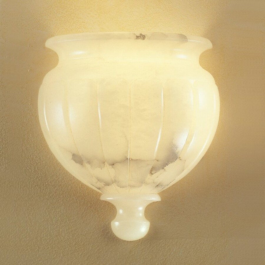 Classic Lighting Navarra 11-in W 1-Light Pocket Hardwired Wall Sconce
