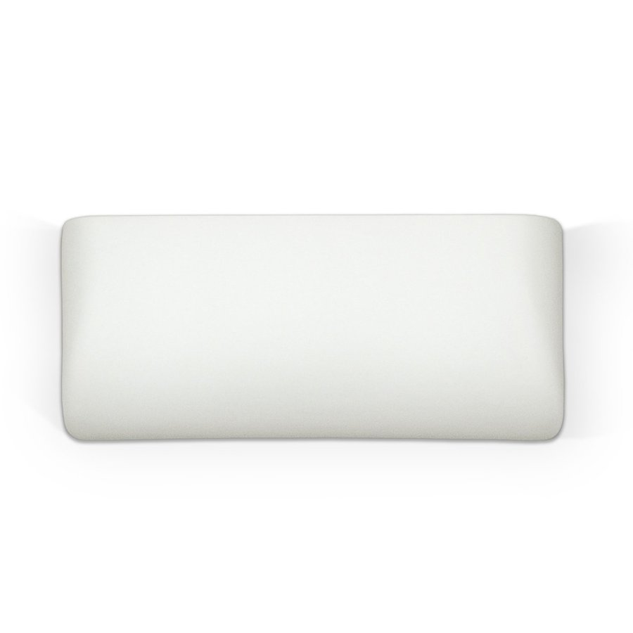 A-19 Islands Of Light Gran Balboa 11.5-in W 1-Light Unfinished Bisque Pocket Hardwired Wall Sconce