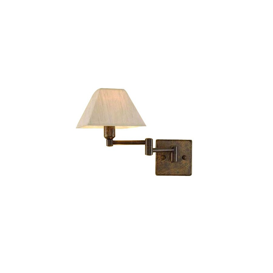 Shop Lustrarte 13-3/8-in W Macau 1-Light Earth Arm Wall Sconce at Lowes.com