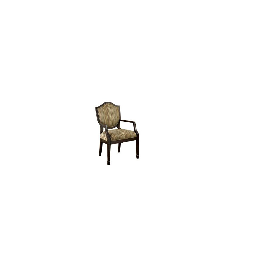 Furniture of America Set of 2 Bernetta Espresso Accent Chairs with Side Table