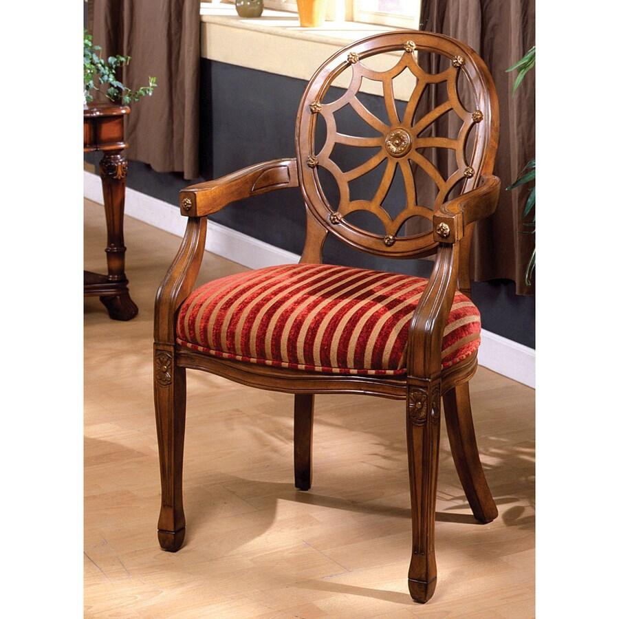 Furniture of America Edinburgh Oak Accent Chair