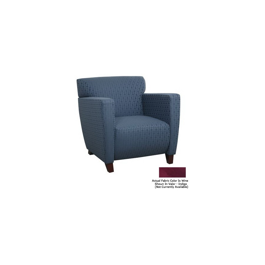 Office Star OSP Furniture Cherry Club Chair