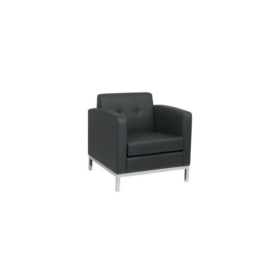 Office Star Avenue Six Chrome Accent Chair