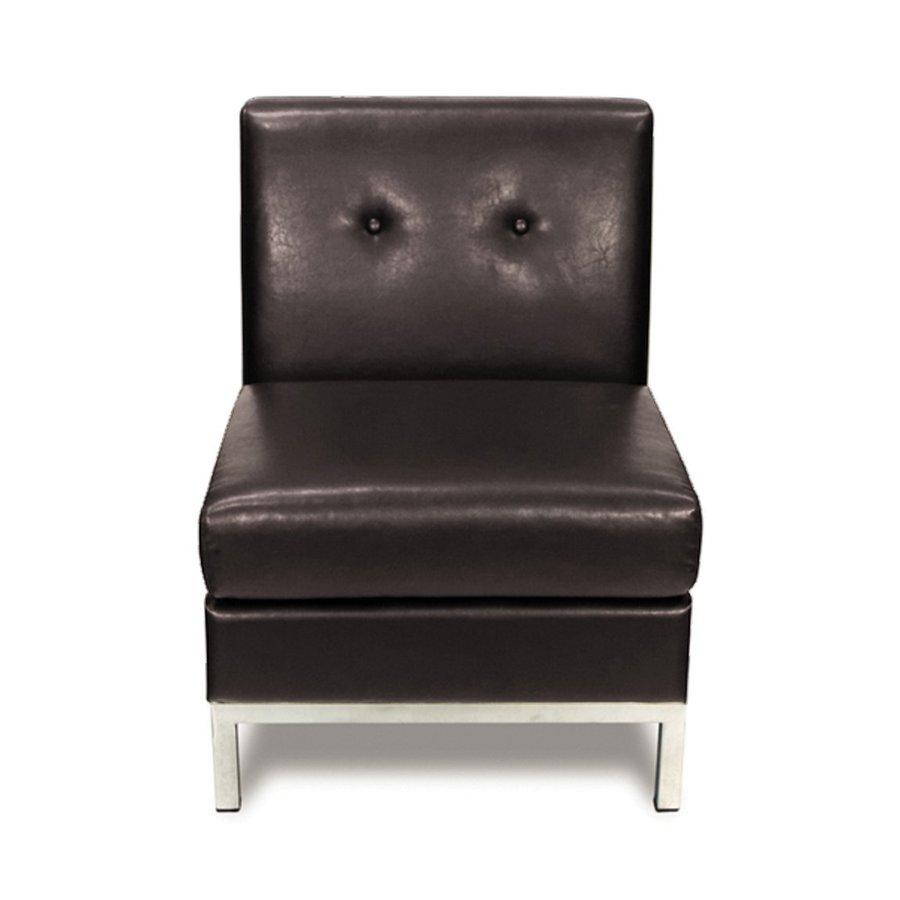 Office Star Avenue Six Espresso/Chrome Accent Chair