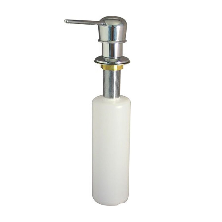 Elements of Design Chrome Soap and Lotion Dispenser