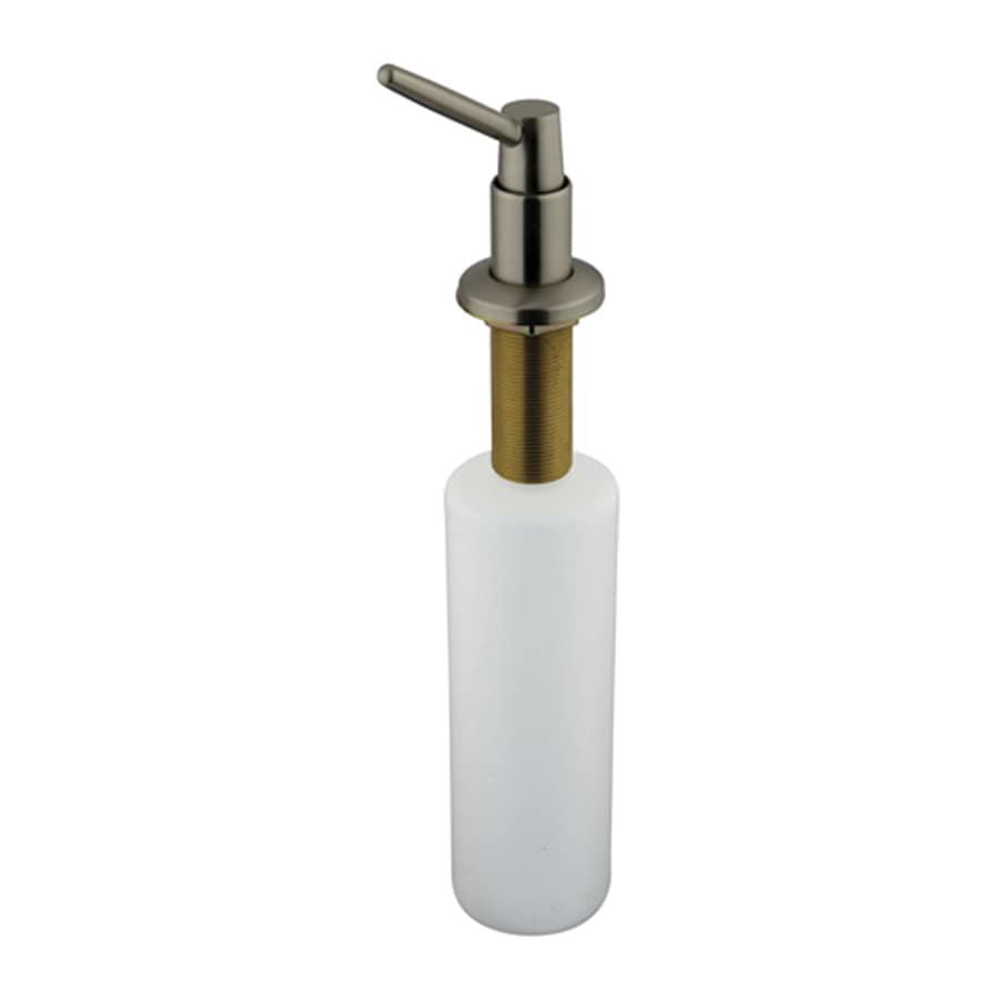 Elements of Design Satin Nickel Soap and Lotion Dispenser
