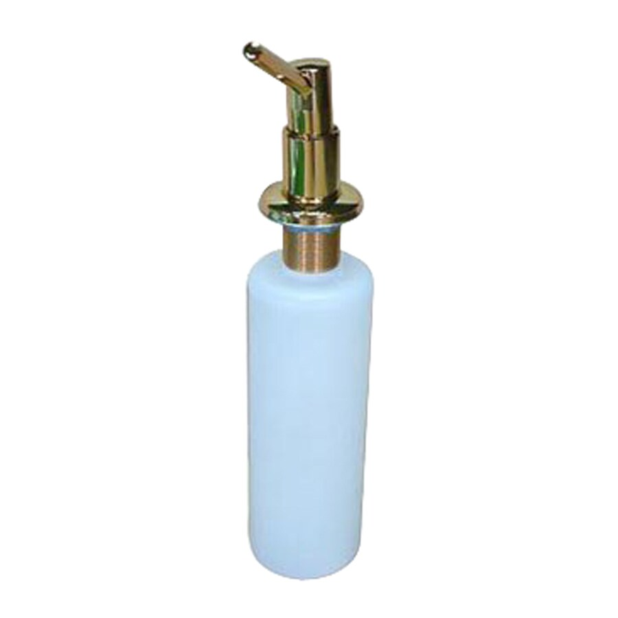 Elements of Design Polished Brass Soap and Lotion Dispenser