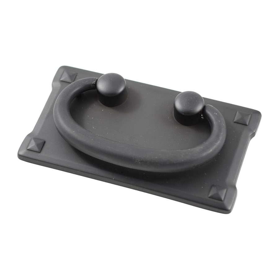 Residential Essentials 3-in Center-To-Center Black Bail Cabinet Pull