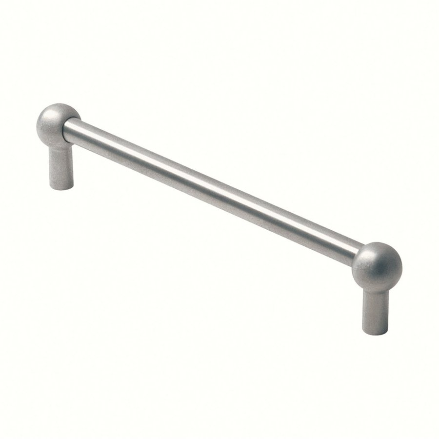Siro Designs 5-in Center-To-Center Fine-Brushed Stainless-Steel Arched Cabinet Pull