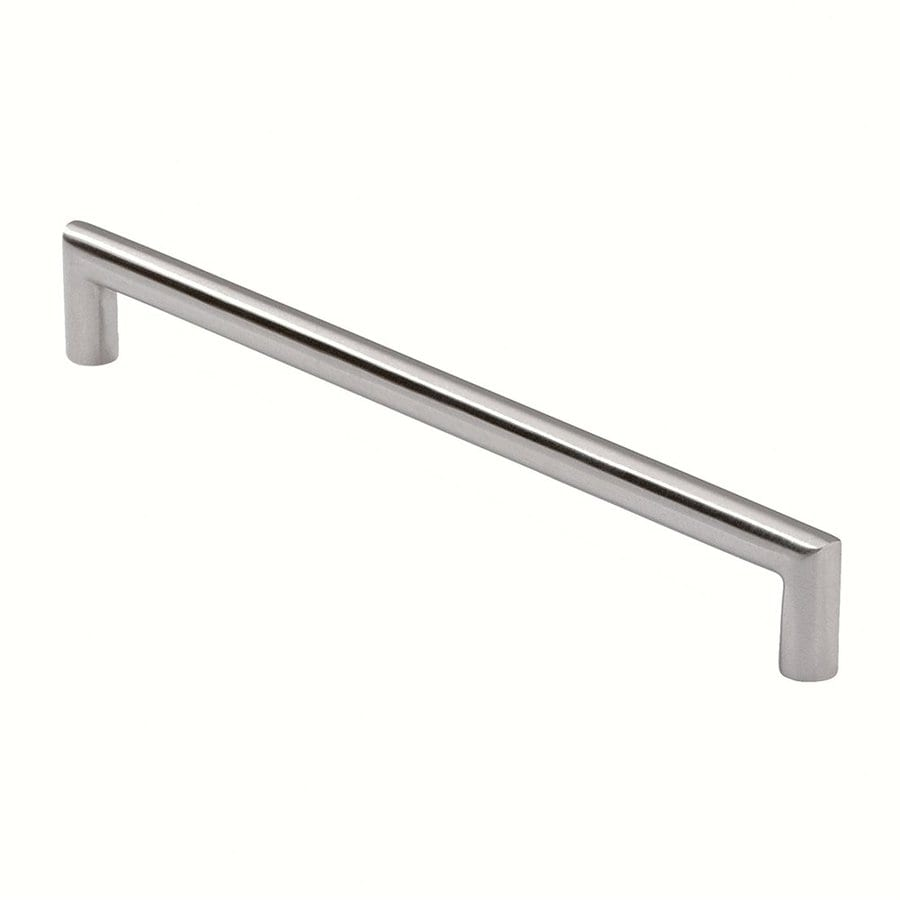 Siro Designs 5-in Center-To-Center Fine-Brushed Stainless-Steel Rectangular Cabinet Pull