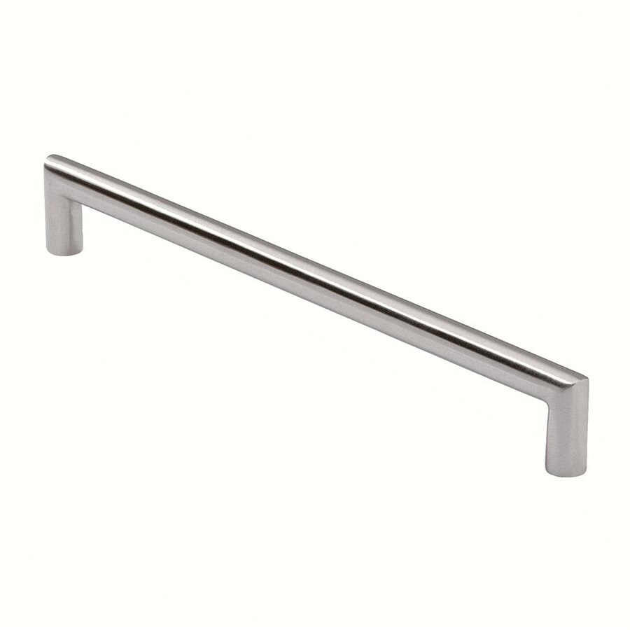 Siro Designs 192Mm Center-To-Center Fine-Brushed Stainless-Steel Rectangular Cabinet Pull