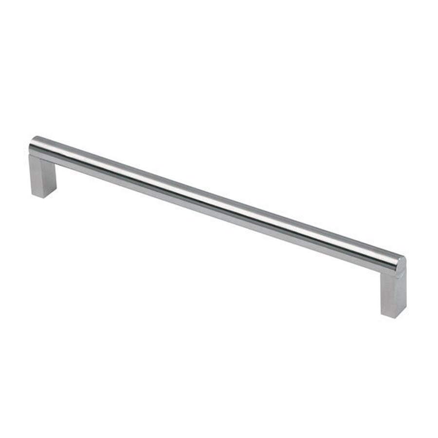 Siro Designs 384Mm Center-To-Center Fine-Brushed Stainless-Steel Bar Cabinet Pull