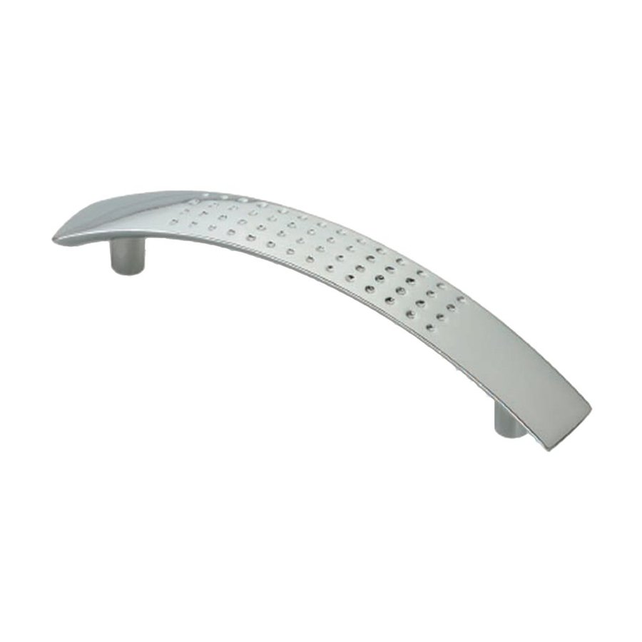 Siro Designs 5-in Center-To-Center Bright Chrome Tech Novelle Arched Cabinet Pull