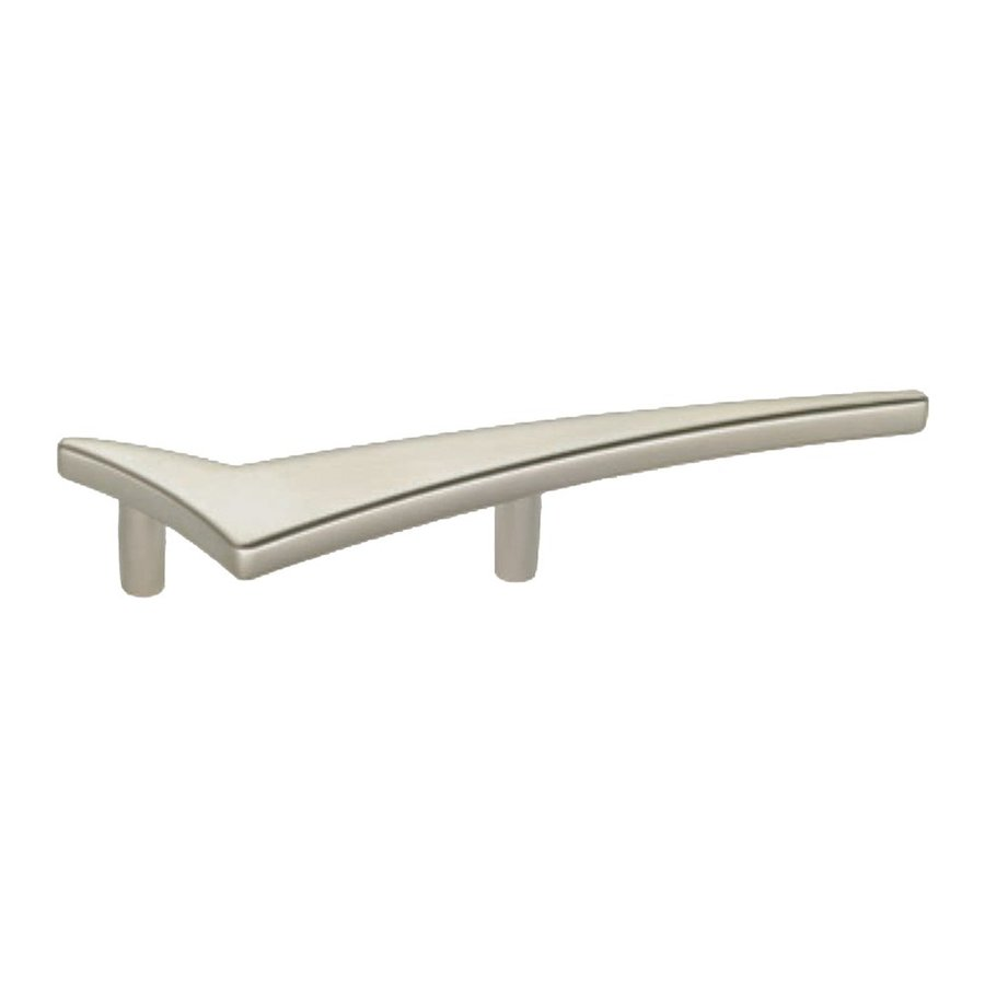 Siro Designs 2-1/2-in Center-To-Center Matte Nickel Starline Novelty Cabinet Pull
