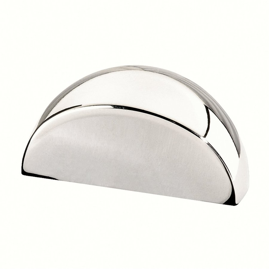 Siro Designs Bright Chrome Milan Cup Cabinet Pull