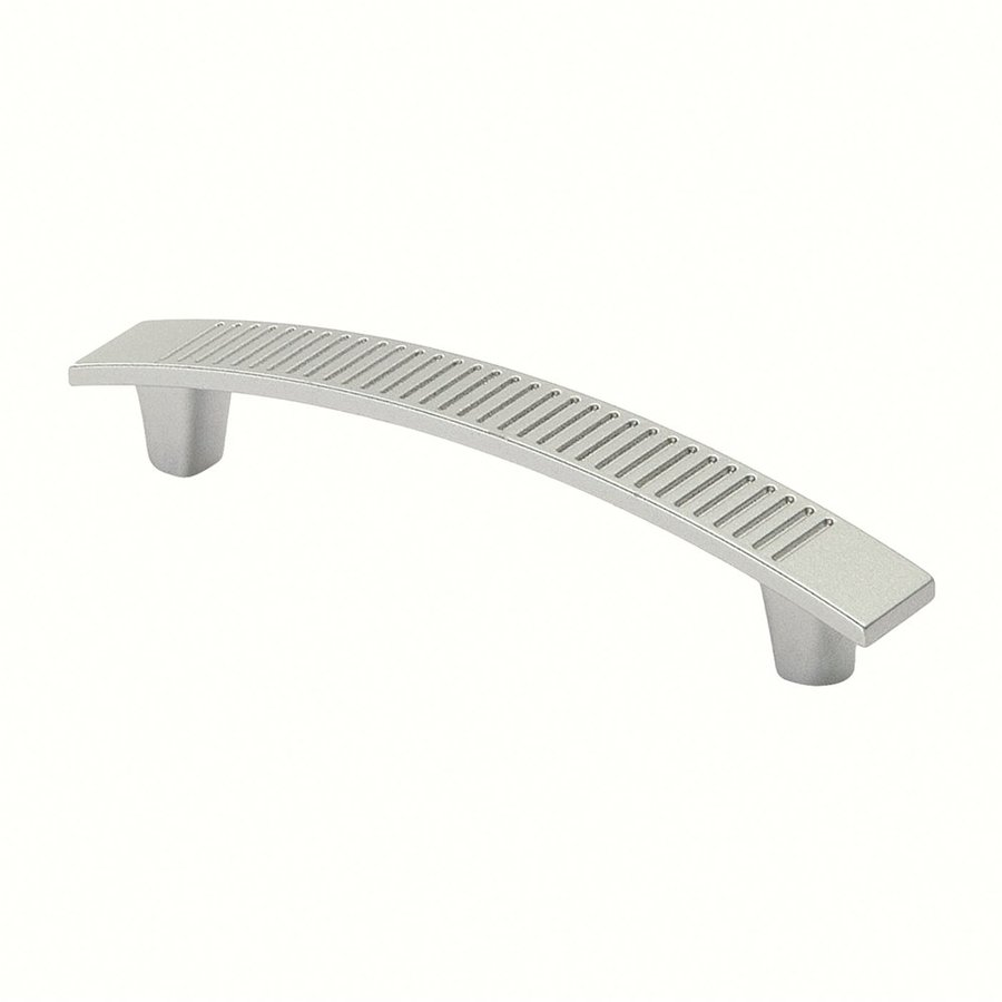 Siro Designs 3-3/4-in Center-To-Center Matte Aluminum Savannah Bar Cabinet Pull