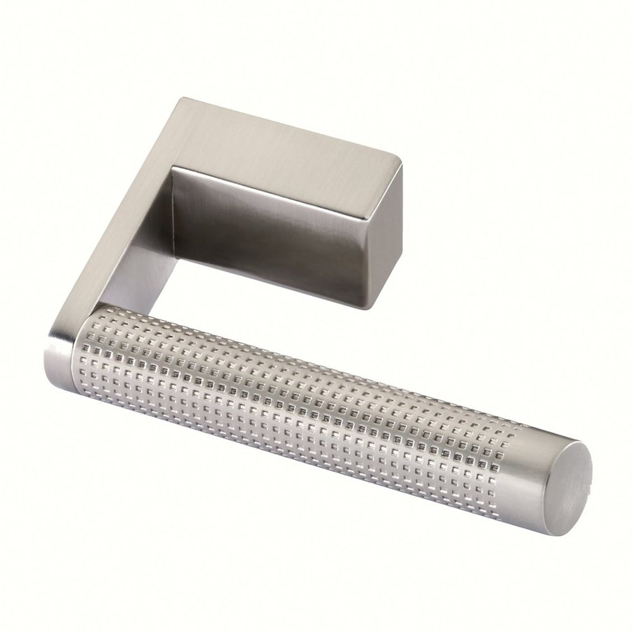 Siro Designs 1-1/4-in Center-To-Center Fine-Brushed Nickel Tec Design Novelty Cabinet Pull