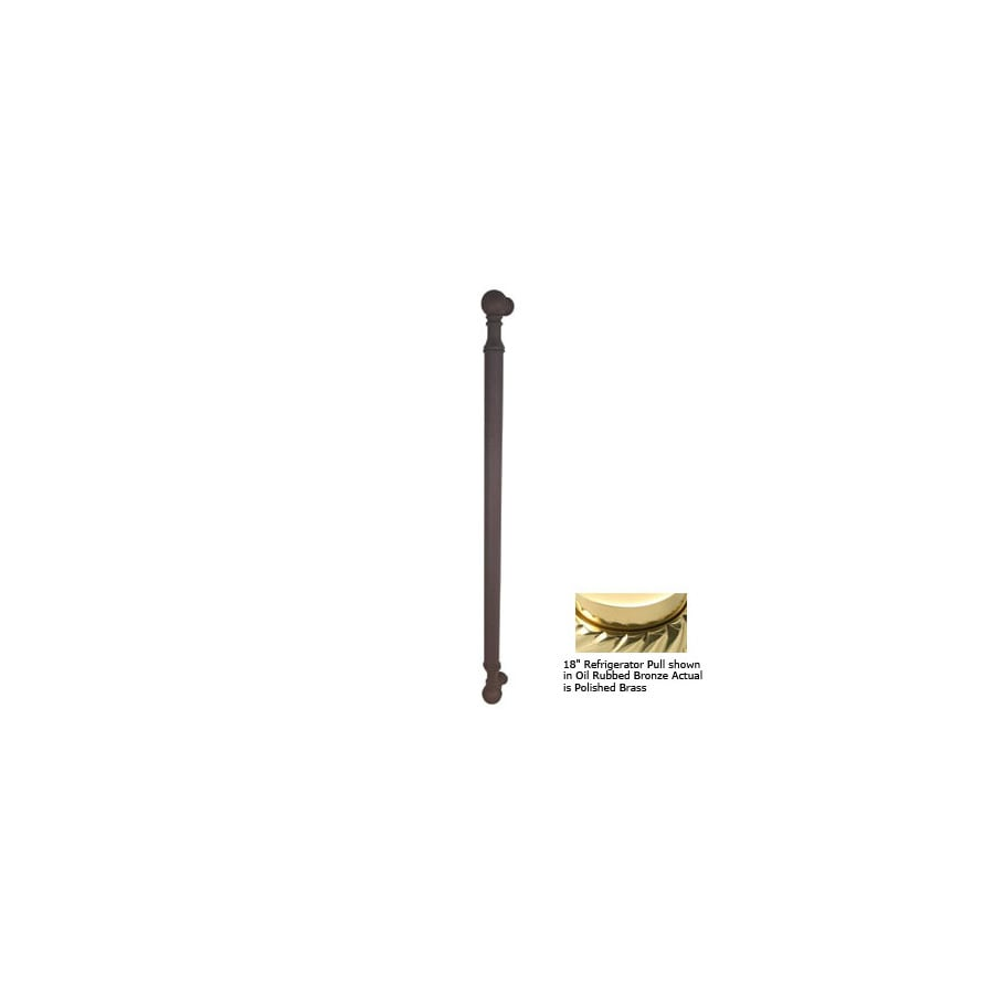 Allied Brass 3-in Center-To-Center Polished Brass Waverly Place Bar Cabinet Pull