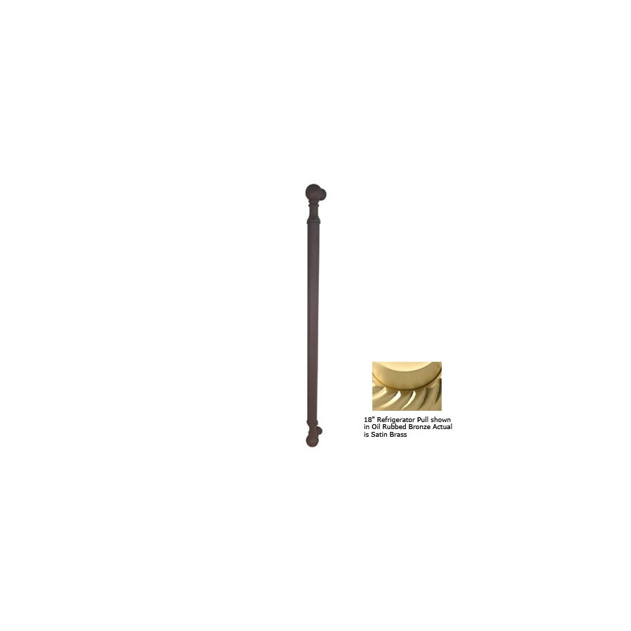 Allied Brass 8-in Center-To-Center Satin Brass Waverly Place Bar Cabinet Pull