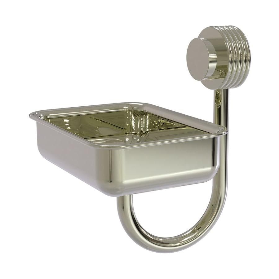Allied Brass Venus Polished Nickel Brass Soap Dish